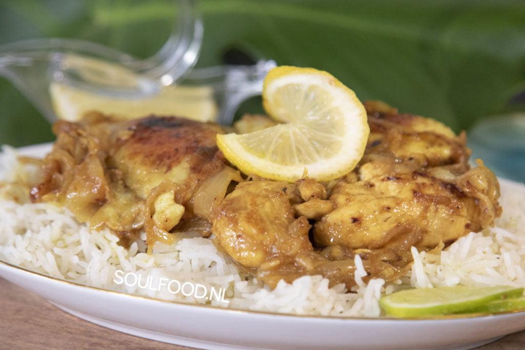 chicken yassa poulet gambia senegal recipe recept