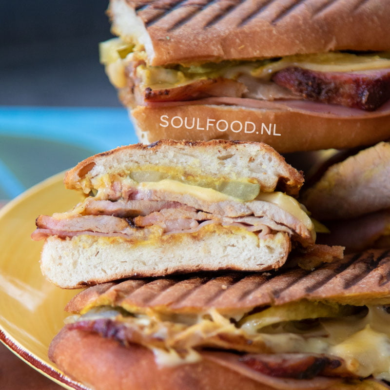 Cubano sandwich pan from movie chef jon favreau recipe recept