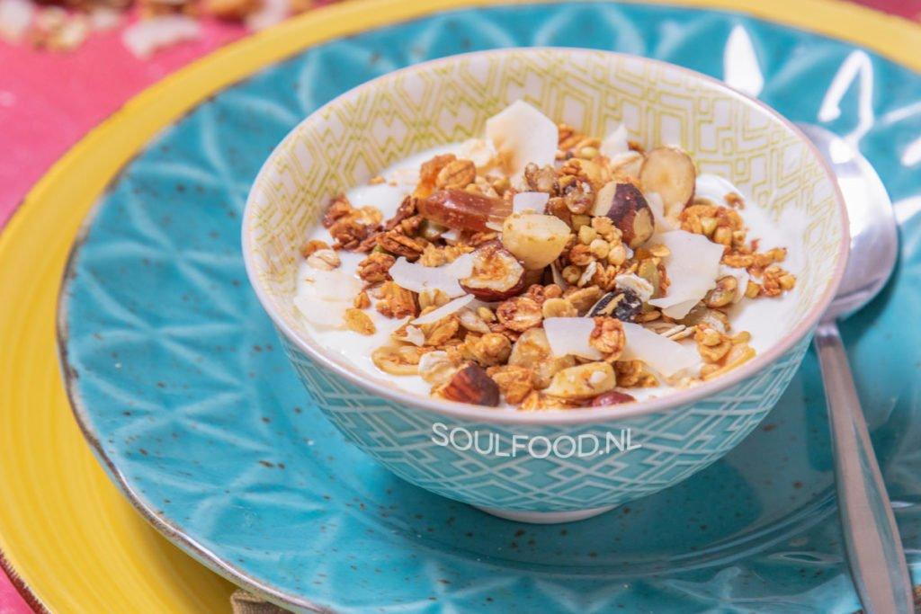 glutenvrije gluten free granola recept recipe