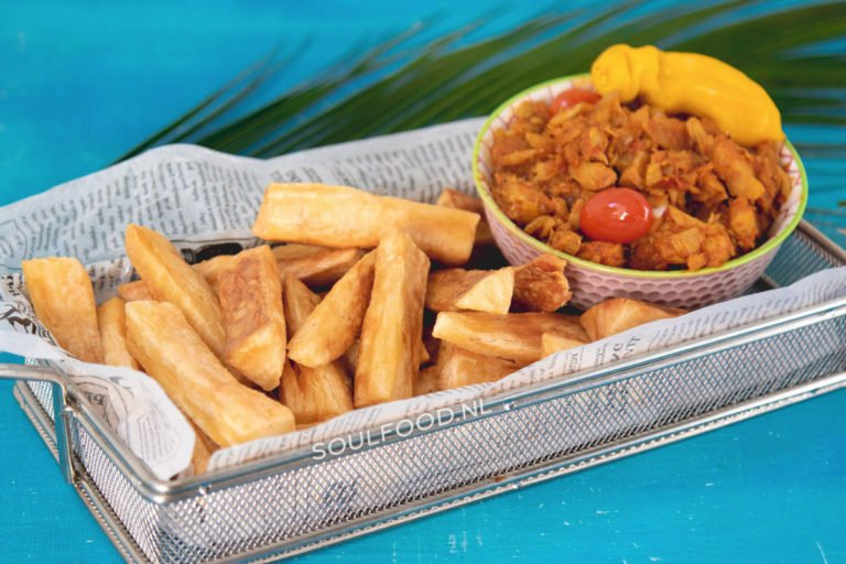 Surinaamse telo met bakkeljauw teloh cassave recept