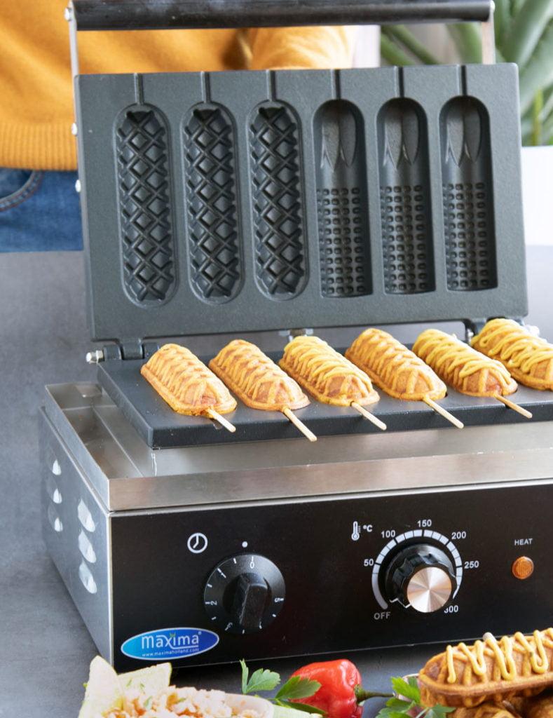 bara corn dogs Surinaamse bara recept