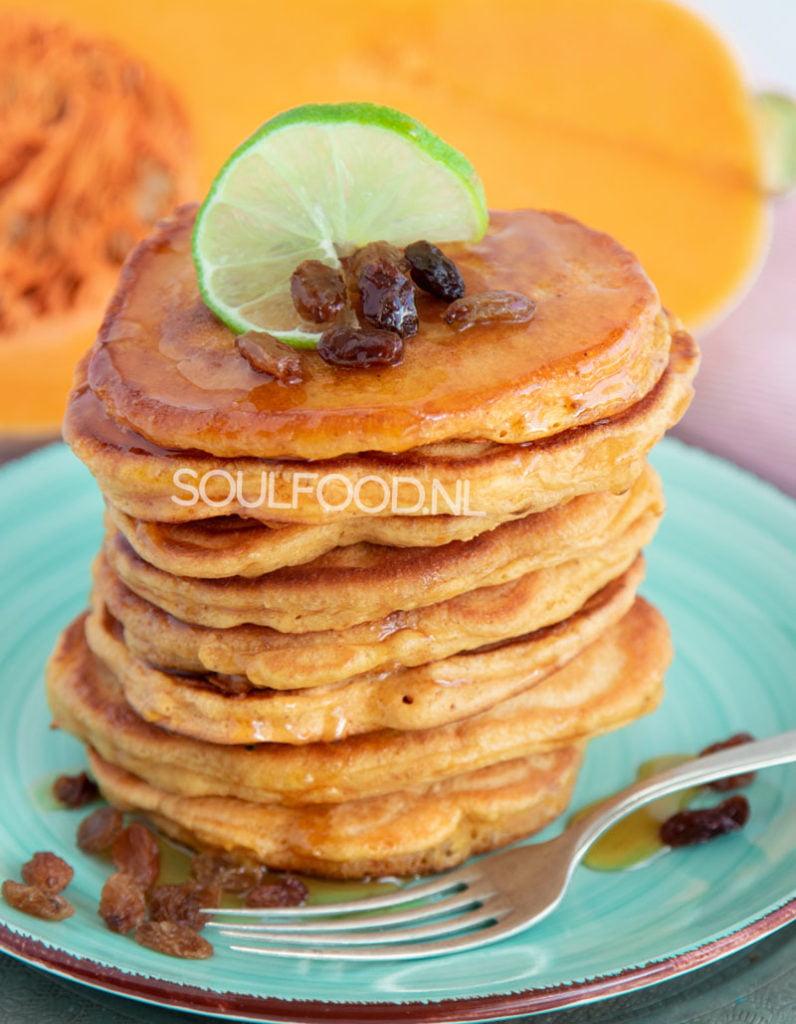 arepa di pampuna Antilliaanse pompoenpannenkoeken recept soulfood