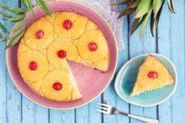 pineapple upside down cake ananastaart bolo di anasa antilliaanse taart recept recipe