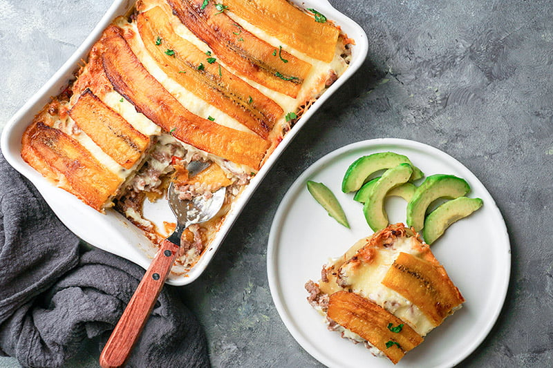 pastelón piñon puerto rico lasagne lasagna ovenschotel recept
